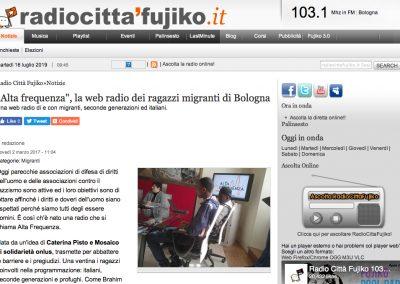 """<a href=""""http://www.radiocittafujiko.it/alta-frequenza-la-web-radio-dei-ragazzi-migranti-di-bologna"""" target=""""_blank"""" rel=""""noopener noreferrer"""">Vai all'articolo</a>"""