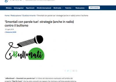 """<a href=""""https://www.gnewsonline.it/smontali-con-parole-tue-strategie-anche-in-radio-contro-il-bullismo/ """" target=""""_blank"""" rel=""""noopener noreferrer"""">Vai all'articolo</a>"""