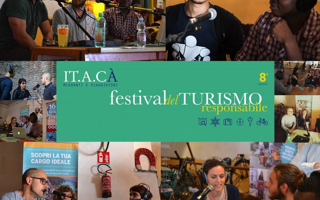ALTA FREQUENZA presente al Festival IT.A.CA', festival del Turismo responsabile e sostenibile.